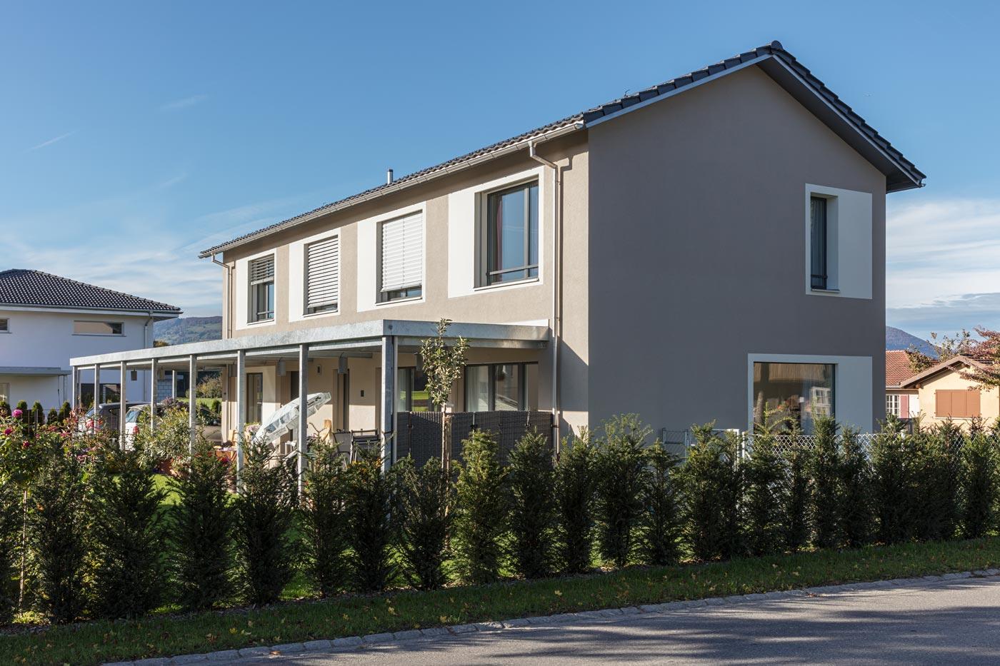 fassade, dach, flachdach, vordach, metallunterstand, spenglerei